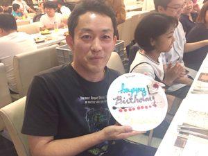 宮越先生の誕生日記念